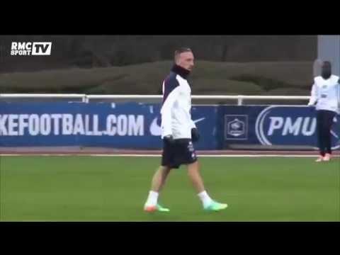 Football / Ribéry en Bleu : une histoire compliquée - 14/08