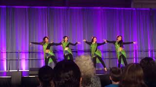Folk Dance of India and Nepal at Stonehill College DiverCity 2018