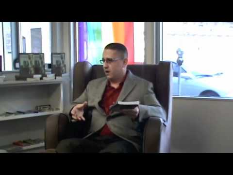 This Shadow Follows Me author presentation novel reading PART 1 Homophobia & ...