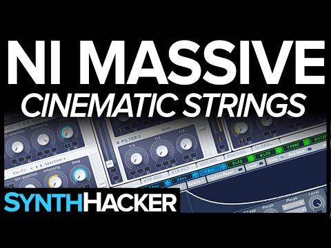 Massive Tutorial - Beautiful Cinematic Style Strings / Pad