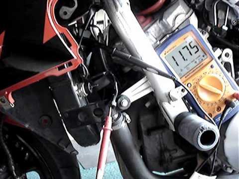 1998 CBR 600F3 Radiator Cooling Fan - YouTube