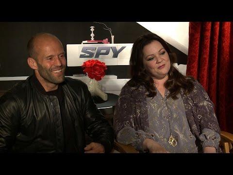SPY Interviews: Melissa McCarthy, Jason Statham, Miranda Hart and Rose Byrne