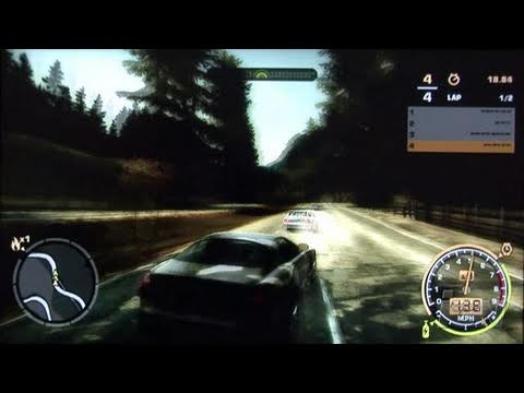 Need for Speed Most Wanted Xbox 360 Gameplay - X05: Eat