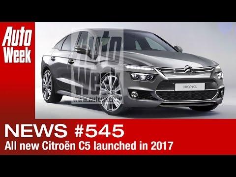 AutoWeek Journaal - Nieuwe Citroën C5 komt in 2017