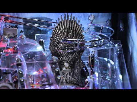 Unboxing the Game of Thrones Limited Edition Pinball Machine from Stern