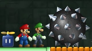 Newer Super Mario Bros Wii - All Towers (2 Player)