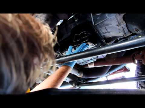 545RFE AutomaticTransmission Fluid Drain and Filter Change
