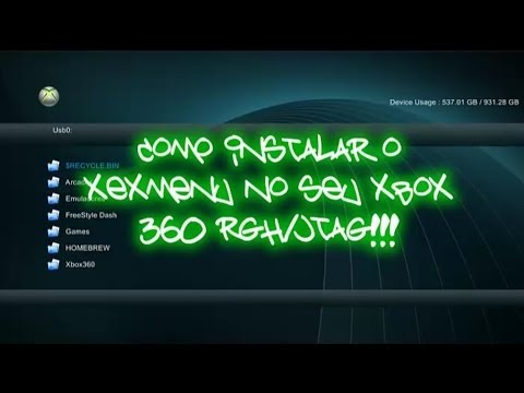 Como instalar o XeX Menu no seu Xbox 360 RGH/JTAG!!!