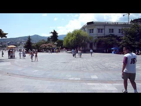 Lenin square, Yalta, Crimea
