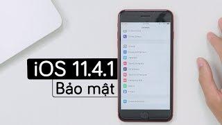 Lên iOS 11.4.1 ngăn chặn bị hack pass màn hình khoá