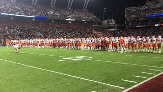 TigerNet: Victory Walk before South Carolina game