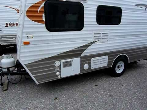 "2012 Layton ""Retro"" Mod. 140 Travel Trailer mfg. by Sklyine & presented by Terry Frazer's RV Center"