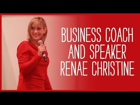 Women's Business Speaker - Renae Christine at The National Stationery Show