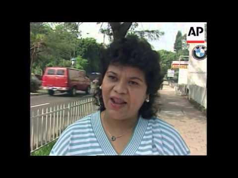 EL SALVADOR: TRANSPORT WORKER'S STRIKE