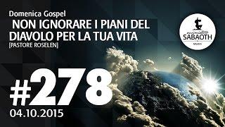 Domenica Gospel @ Milano | Non ignorare i piani che ha il diavolo per la tua vita - Pastore Roselen