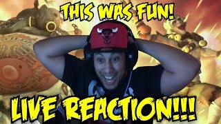 "THIS WAS HILARIOUS! ""Junkertown: The Plan"" + New Escort Map [OVERWATCH] LIVE REACTION!"