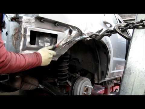 Dodge Caliber. Auto body repair. Ремонт кузова машины