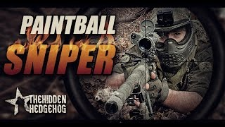 AMAZING PAINTBALL SNIPER!! Crazy Scope cam headshots!