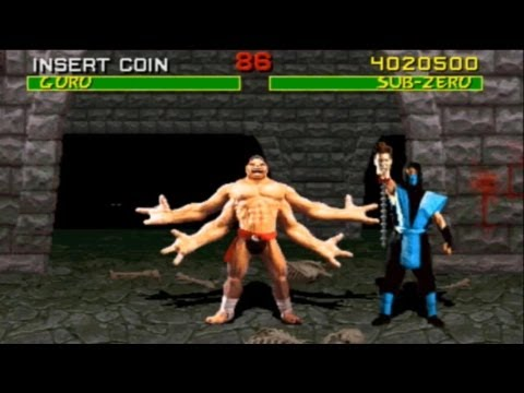 Mortal Kombat arcade Sub Zero ending