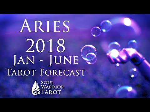 💜 ARIES 2018 JAN TO JUNE Love, Money & Energy Tarot Forecast   Soul Warrior Tarot