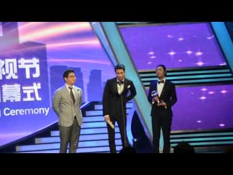 [Fancam] 130614 Jo In Sung Accepting Award at Shanghai TV Festival