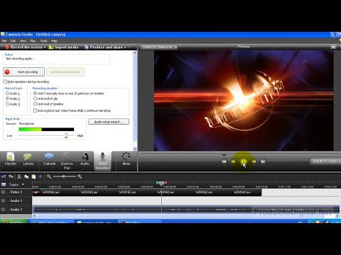 Grabacion de Voz con Camtasia Studio 7