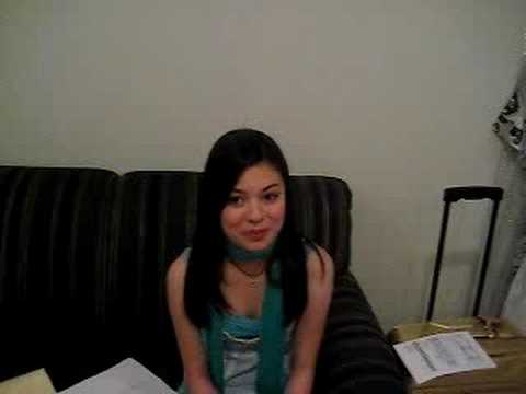 Miranda Cosgrove plays TWIST