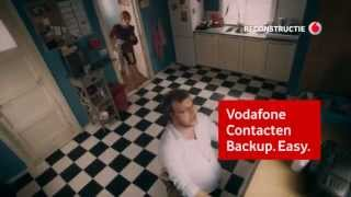 Vodafone commercial over contacten back-up