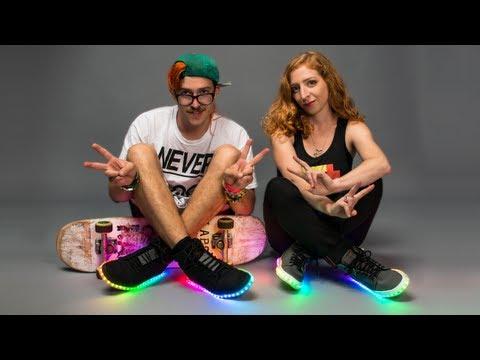 Firewalker LED Sneakers