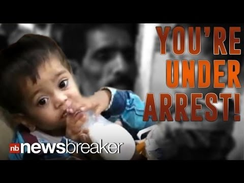 YOU'RE UNDER ARREST: 9 Month Old Baby Taken Into Custody for Attempted Murder