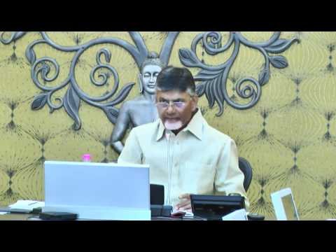 HOD's Meeting by Hon'ble Chief Minister of Andhra Pradesh Shri Nara Chandrababu Naidu Live