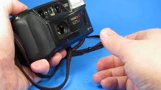Testing a Yashica T3 camera