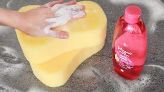 Squashy, bubbly, soapy ASMR sponge sounds