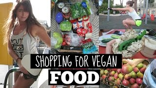 What I Ate/Did Today | Shopping For Vegan Food + Workout With jasonpizzino