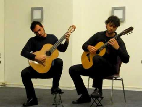 Absil - Suite pour deux guitares