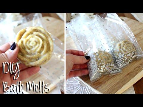 DIY Holiday Beauty Gift : Oatmeal Shea Butter Bath Melts Recipe & Demo