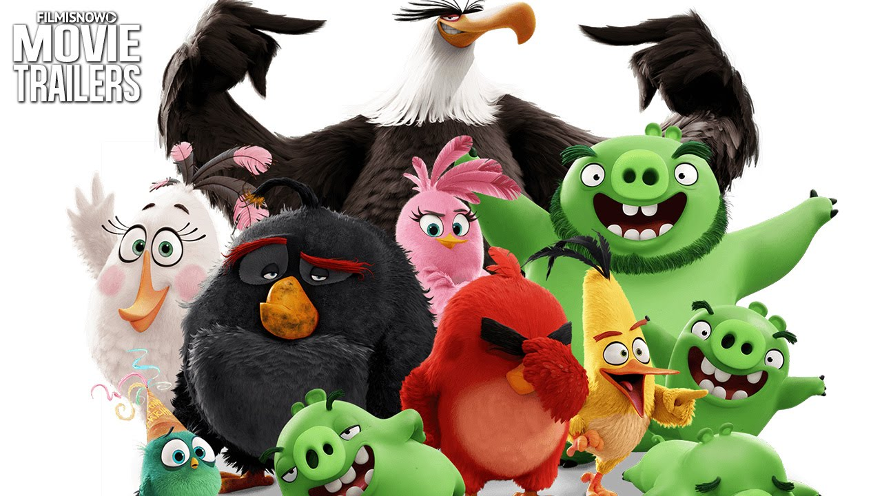 Get to know the characters from THE ANGRY BIRDS MOVIE [HD]
