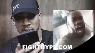 ANTHONY JOSHUA'S SURPRISING REACTION AFTER WATCHING DEONTAY WILDER DISS WIN OVER JOSEPH PARKER