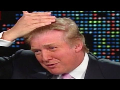 2004: Donald Trump: My hair does not get great reviews