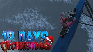 TERUGVLIEGEN OM IEDEREEN TE TREITEREN! (GTA V 12 Days of Christmas #3)