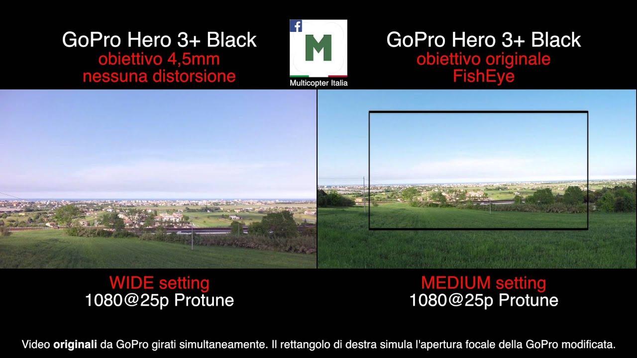 Lens Gopro Hero 2 Gopro Hero 3 Test Lens Mod