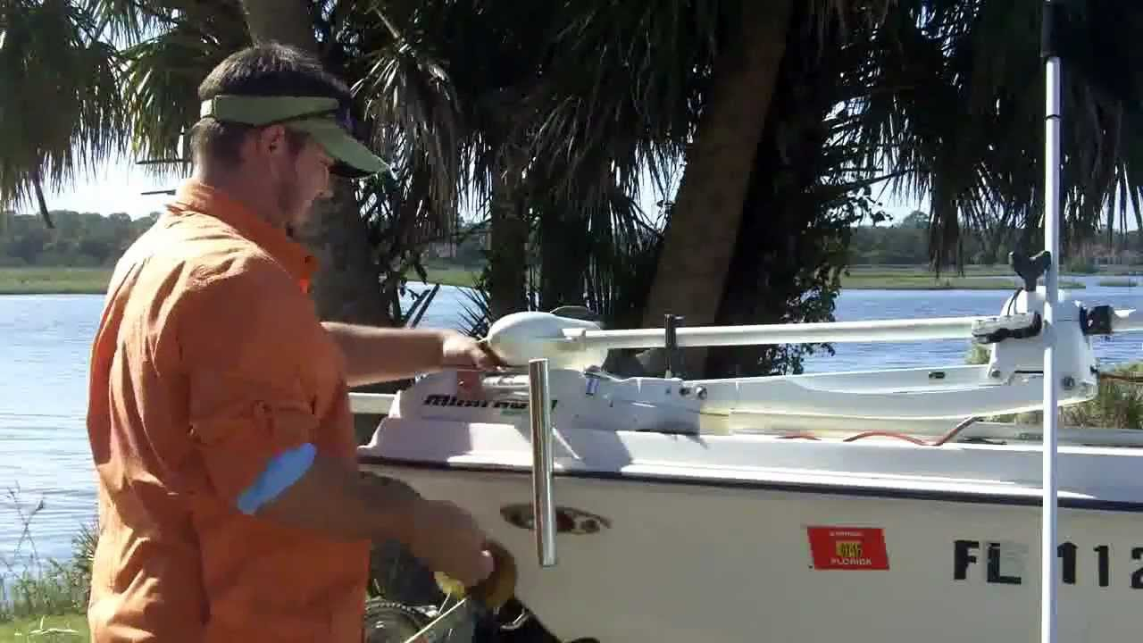 Dig in anchors trolling motor mount install capt billy for Buy bass boat without motor