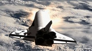 Transbordador espacial Columbia Crash Animación