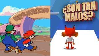 Hotel Mario & Bubsy 3D   ¿Son tan malos?