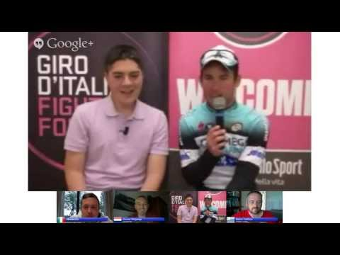 Hangout Giro d'Italia 2013 Treviso