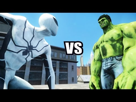 SPIDERMAN (FUTURE FOUNDATION) VS HULK - EPIC BATTLE