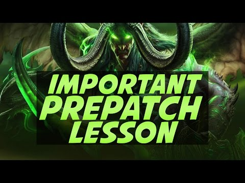 The Real Importance of World of Warcraft Legion Pre-Patch
