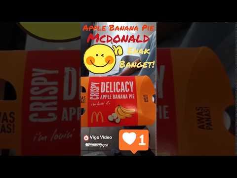 Evan's review: Apple Banana Pie Mcdonalds