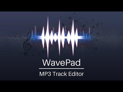 WavePad Audio Editing Tutorial | MP3 Track Editor