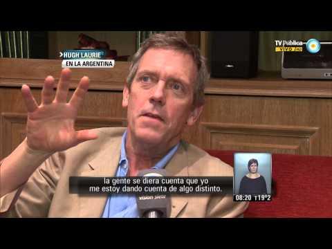 Visión 7: Hugh Laurie en Argentina